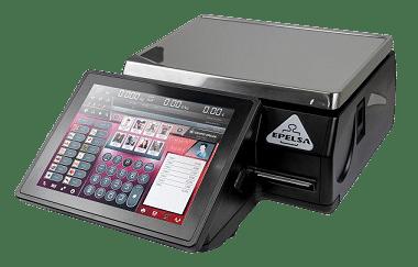 Balance commerciale tactile Touchscale 10RL