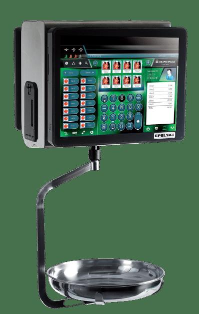 balance poids-prix suspendue et tactile TouchScale 22RLI
